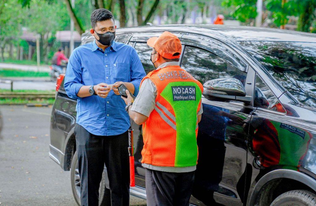 Bobby Berusaha Selamatkan PAD Lalui e-Parking
